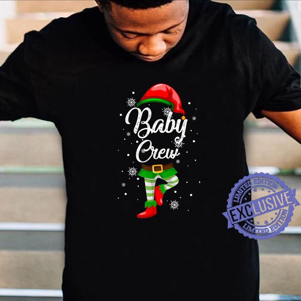 Baby Crew Matching Family Christmas Costume Pajamas Elves Shirt