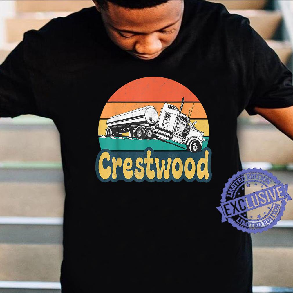 Crestwood Kentucky KY Tourism Semi Stuck on Railroad Tracks Shirt