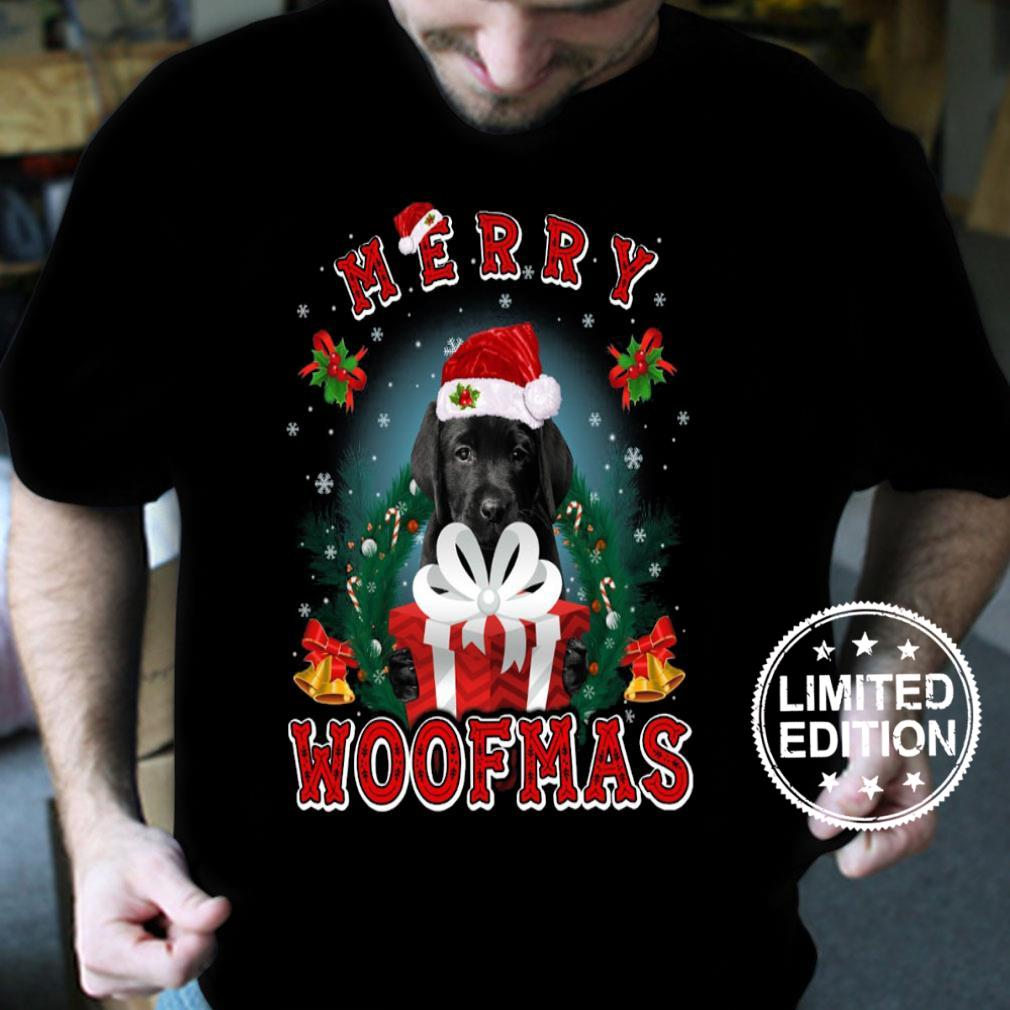 Dogs Merry woofmas shirt