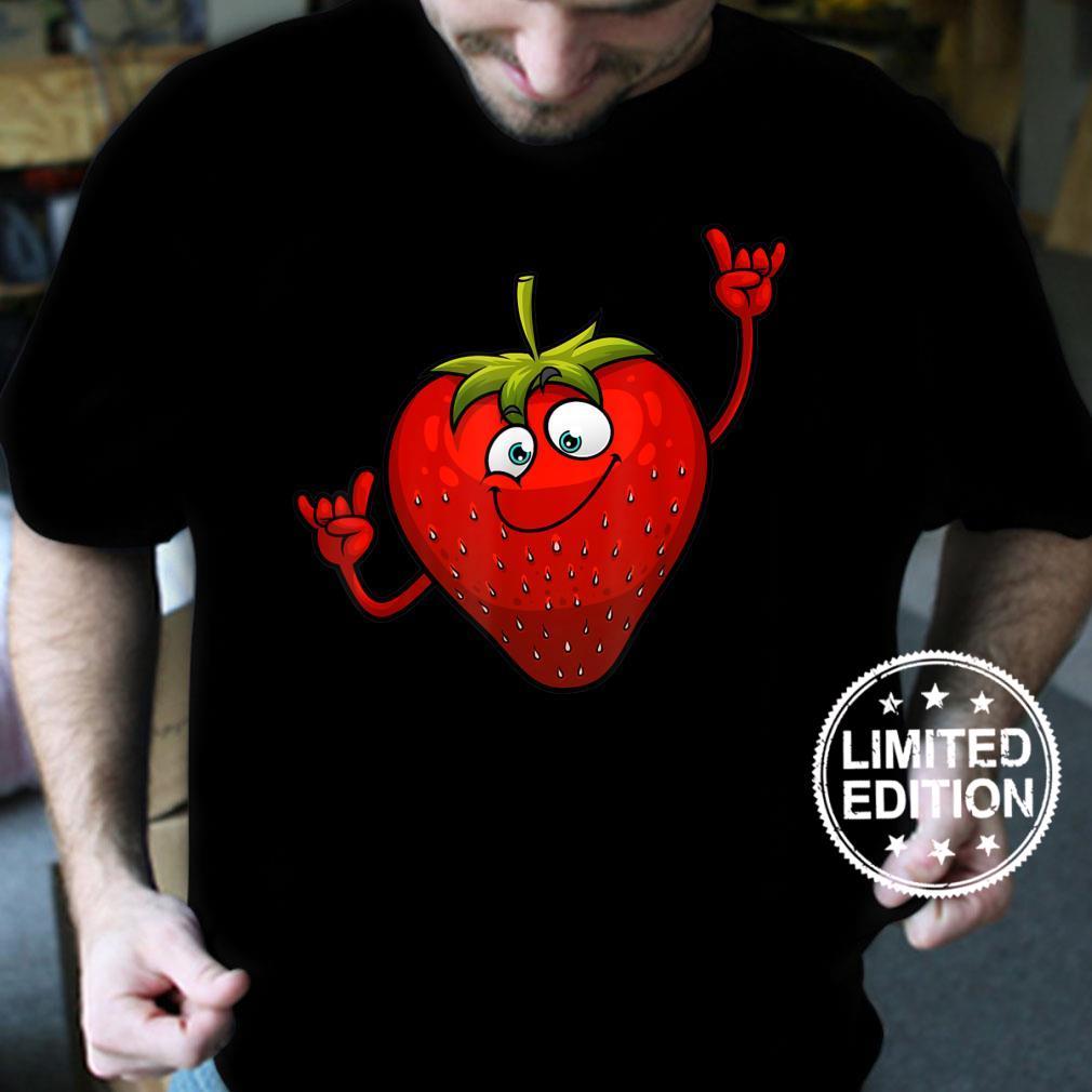 Funny Strawberry Designs Strawberries Shirt