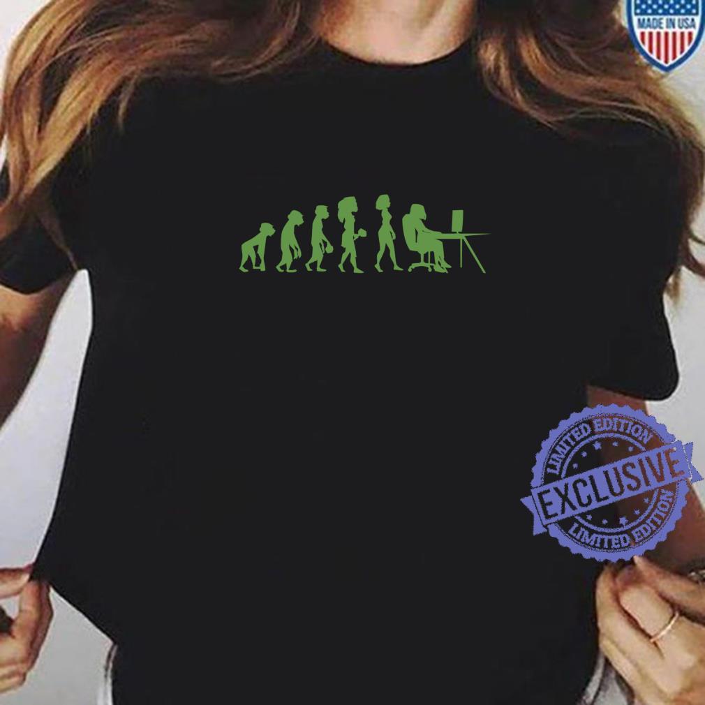 Program Coding Debugger Evolution Programmer Shirt ladies tee