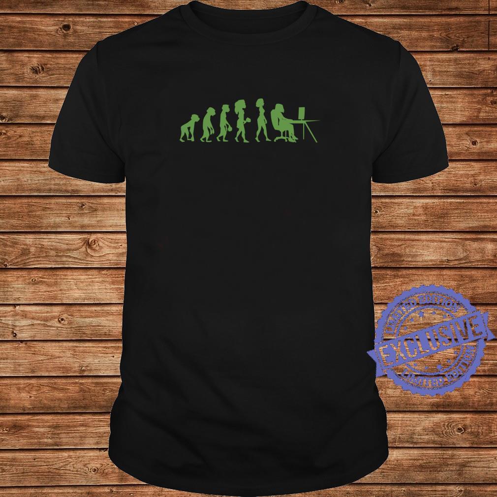 Program Coding Debugger Evolution Programmer Shirt long sleeved