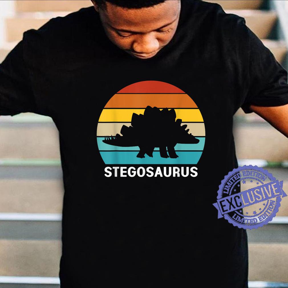 Retro Dinosaur Stegosaurus Shirt