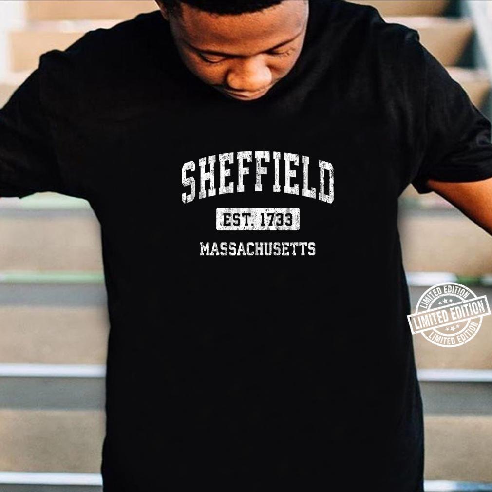 Sheffield Massachusetts MA Vintage Sports Established Design Shirt