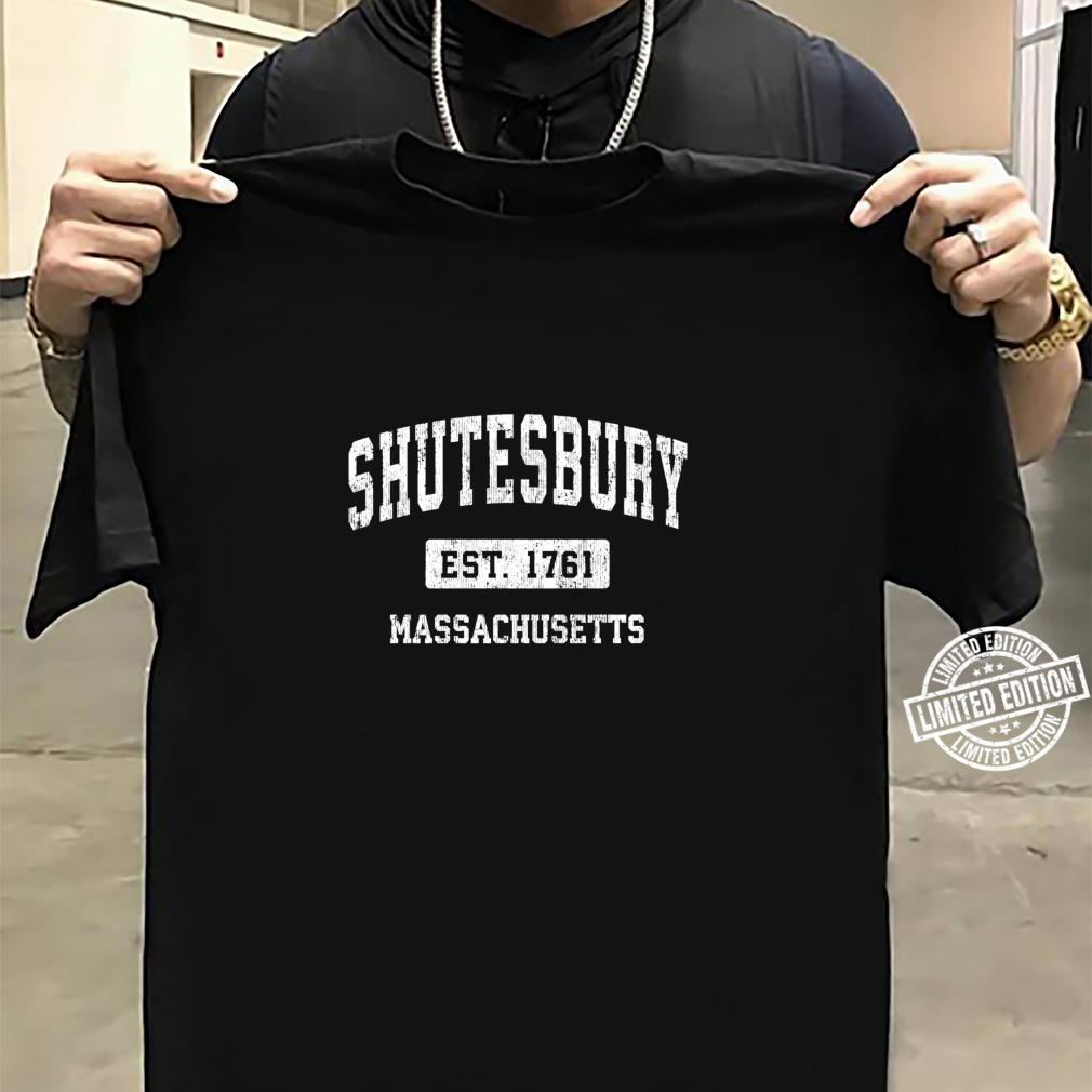 Shutesbury Massachusetts MA Vintage Sports Established Desig Shirt sweater