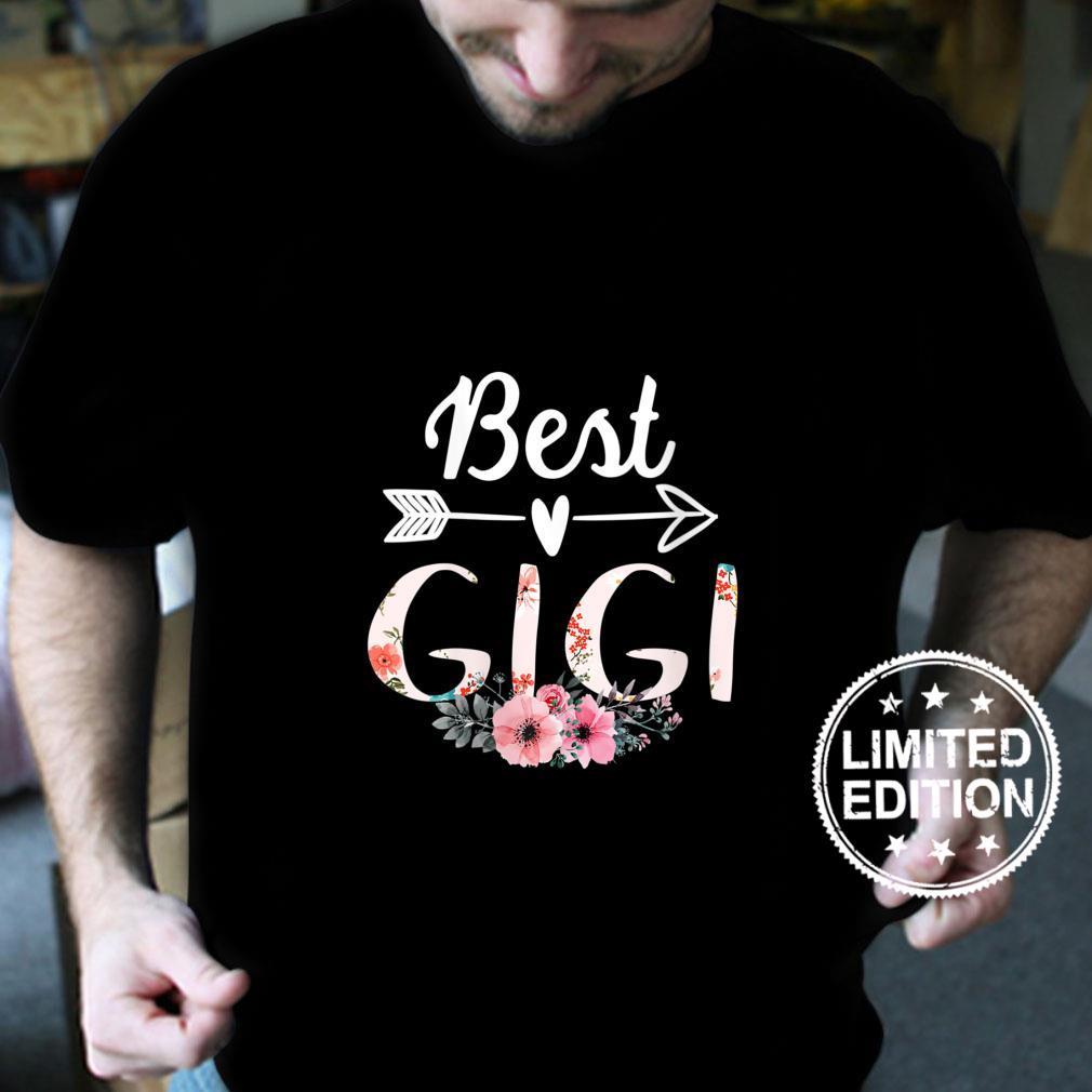 Womens Family 365 Best Gigi Mothers Day Grandma Shirt