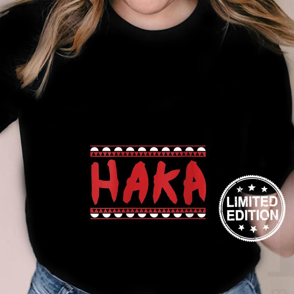 Womens Maori Haka Dance warrior Haka Dance Idea Shirt ladies tee