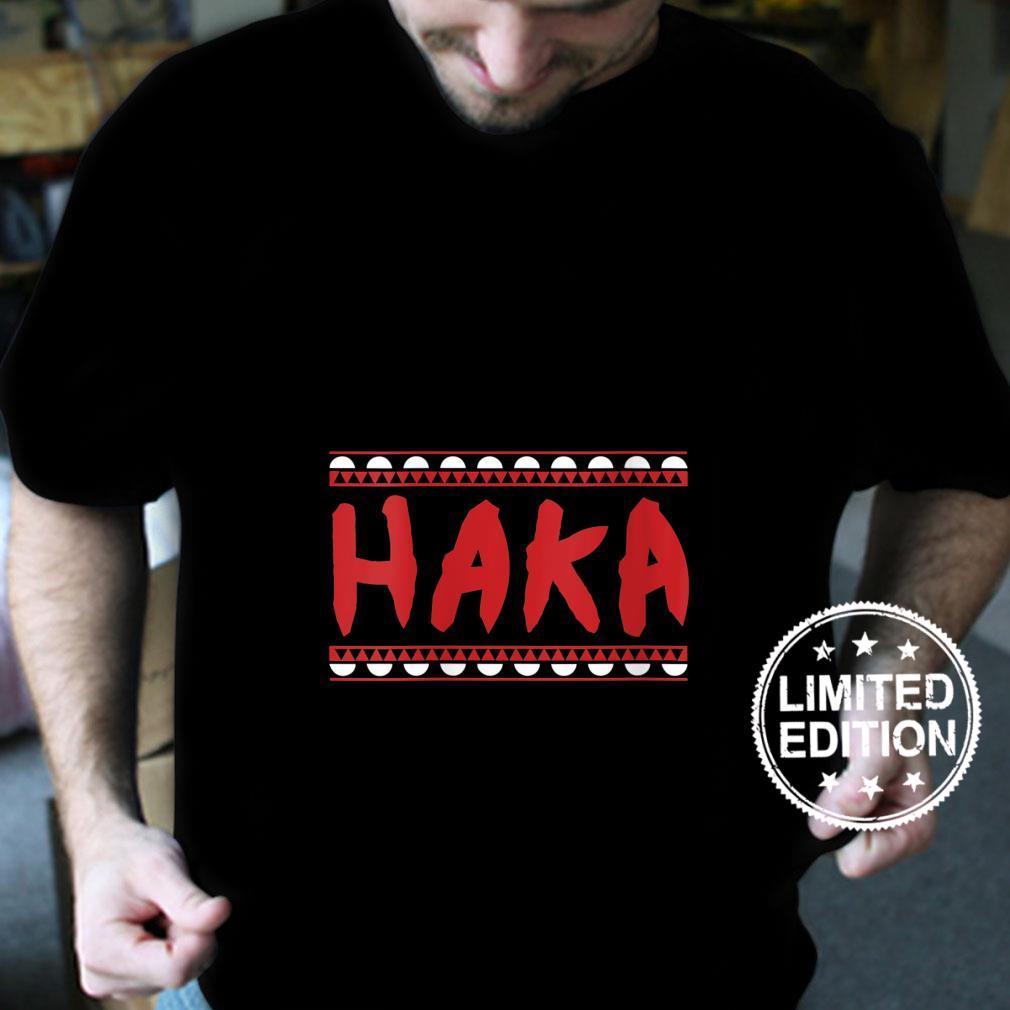 Womens Maori Haka Dance warrior Haka Dance Idea Shirt