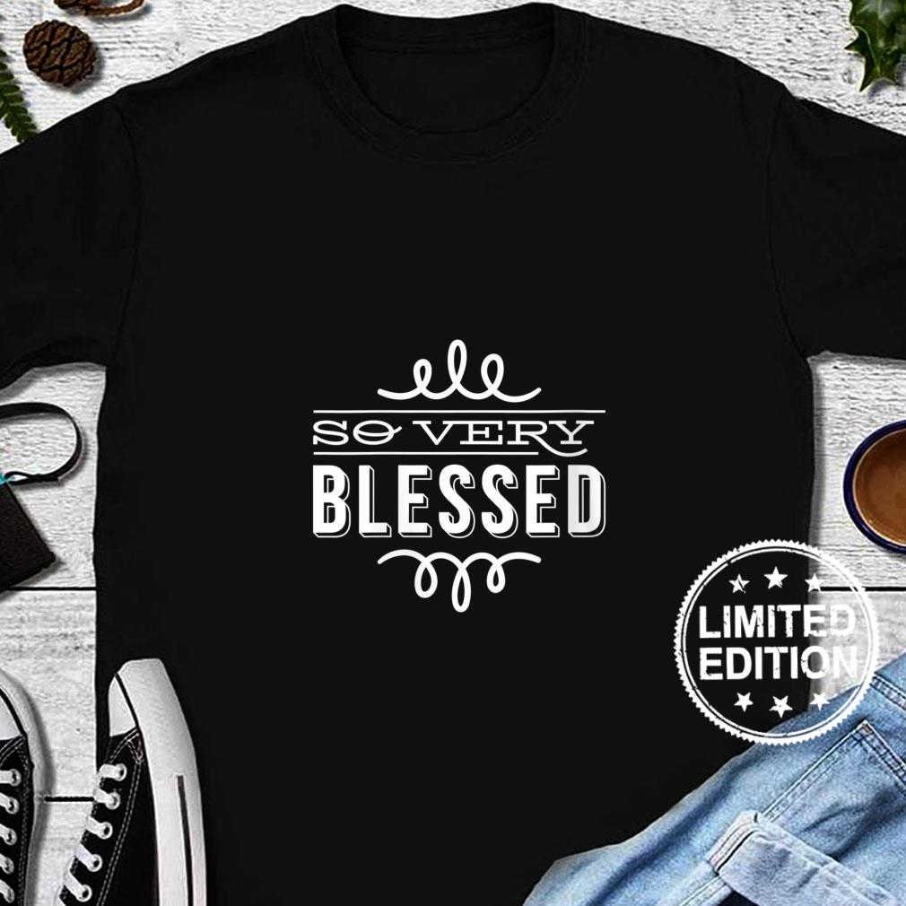 Womens So Very Blessed Thanksgiving Quote Holiday Saying Fall Shirt long sleeved