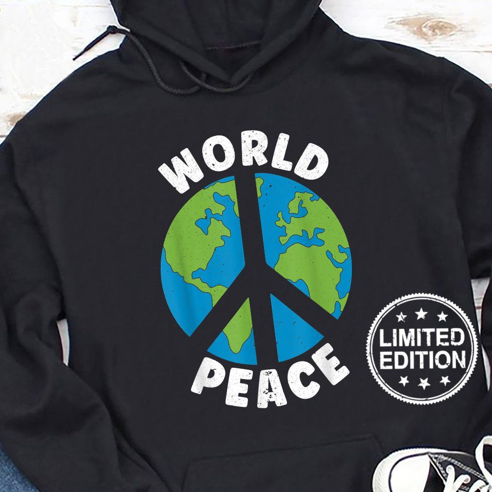 World Peace Kindness End Hate International Day Of Peace Shirt hoodie