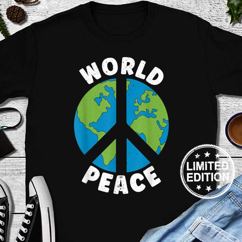 World Peace Kindness End Hate International Day Of Peace Shirt long sleeved