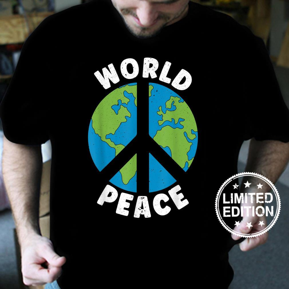 World Peace Kindness End Hate International Day Of Peace Shirt