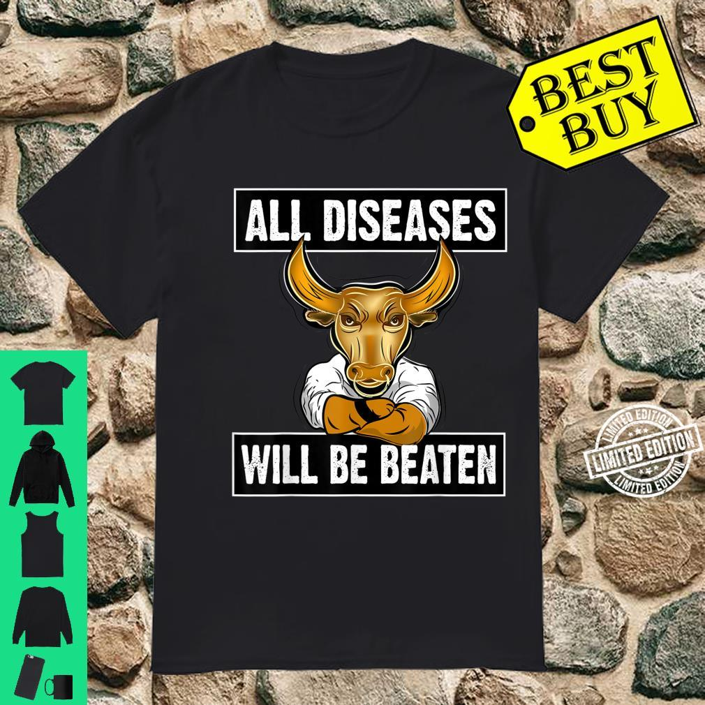 2021 Year of the Ox All diseases will be beaten Shirt