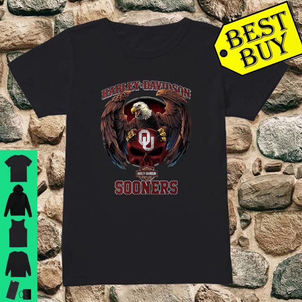 Harley Davidson Sooners shirt ladies tee