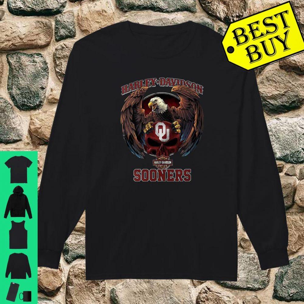 Harley Davidson Sooners shirt long sleeved
