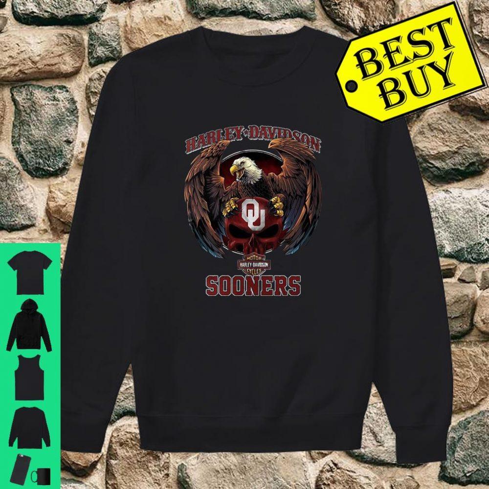 Harley Davidson Sooners shirt sweater