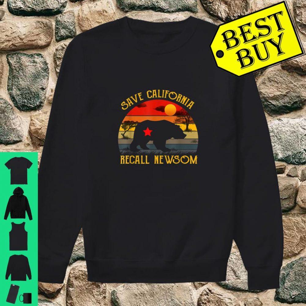 Save California Recall Newsom Conservative Political shirt sweater
