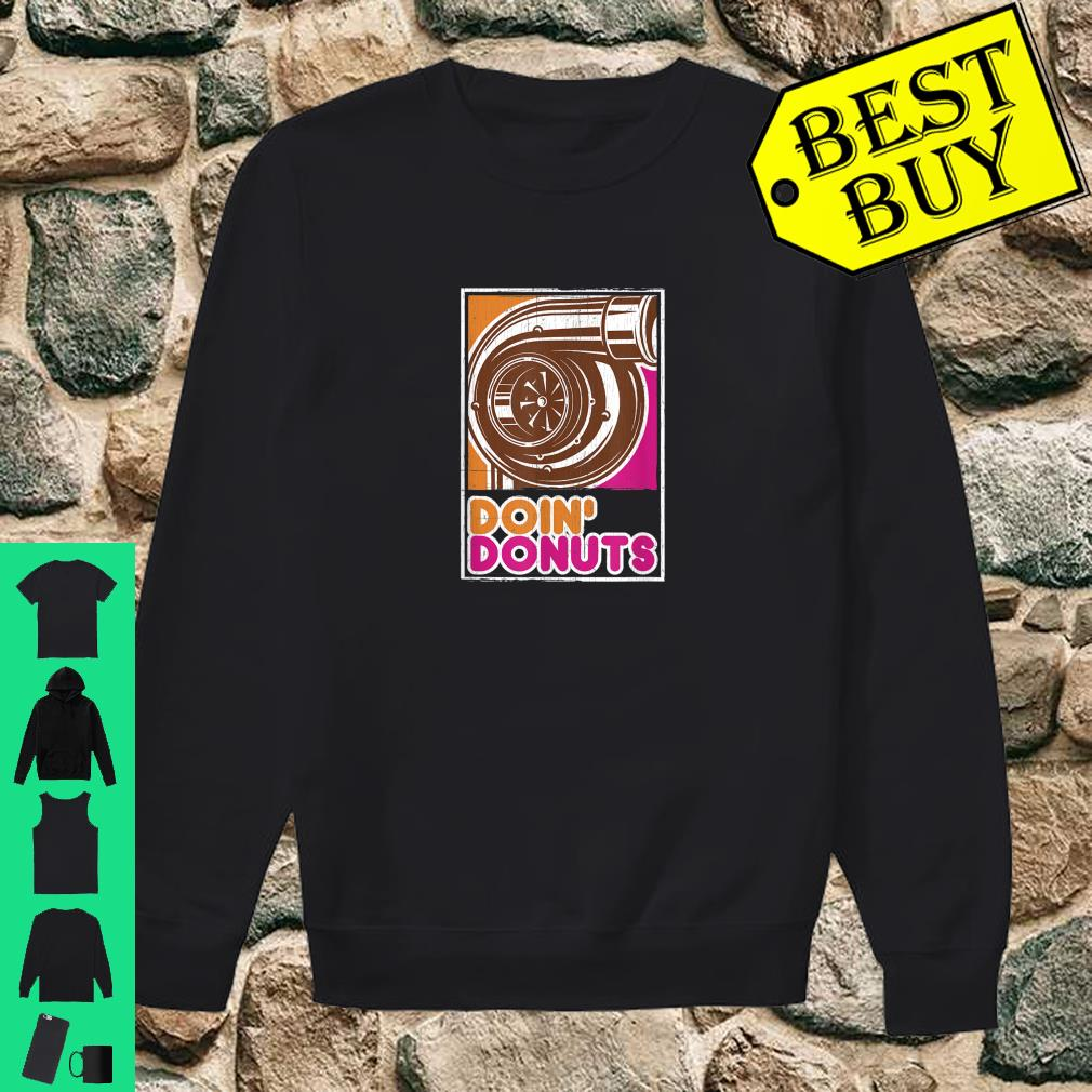 Vintage Doin' Donuts Car Enthusiast Shirt sweater