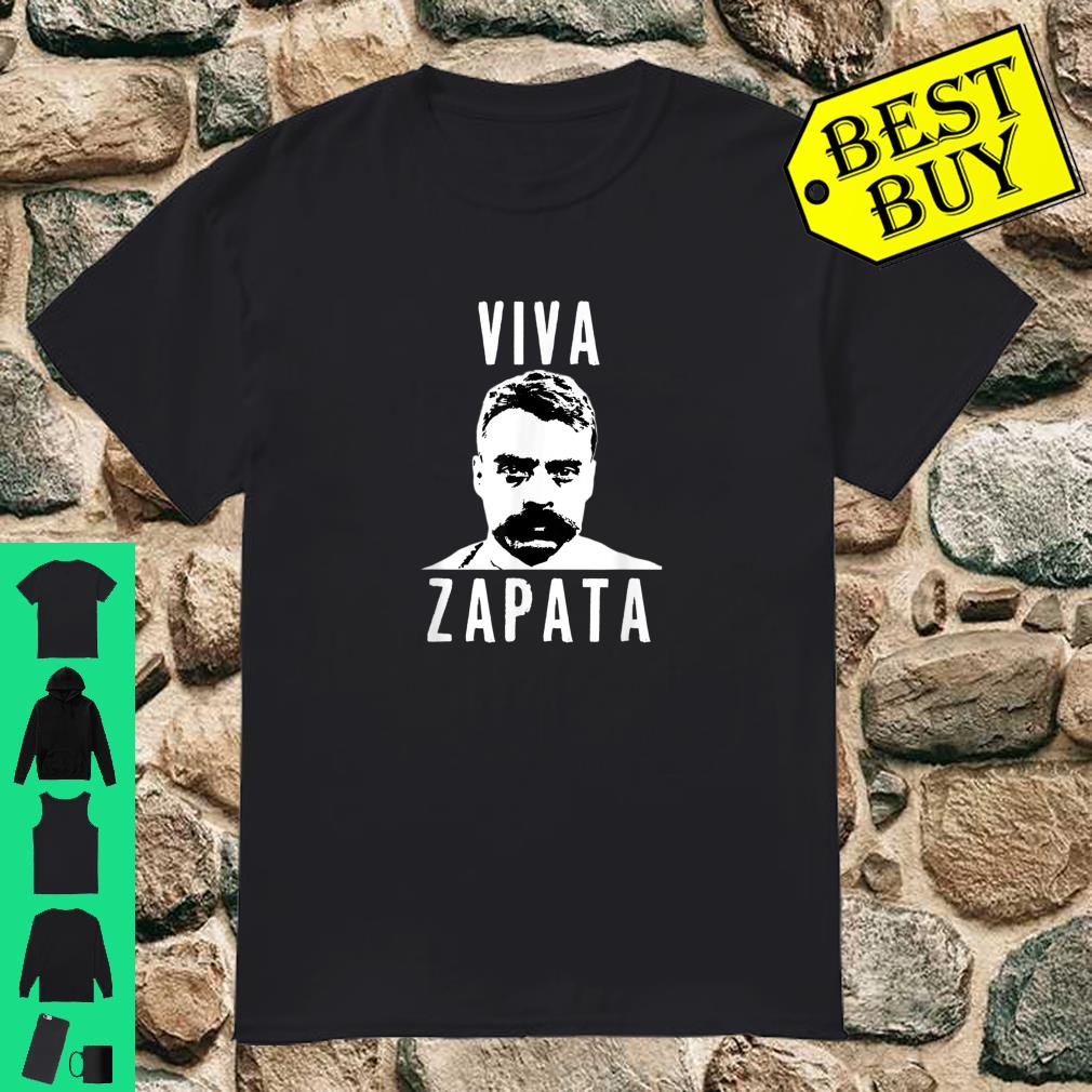 Viva Emiliano Zapata Mexican Revolution Hero shirt